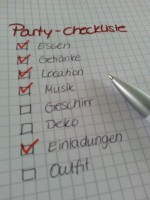 schlagerparty checkliste party richtig planen. Black Bedroom Furniture Sets. Home Design Ideas